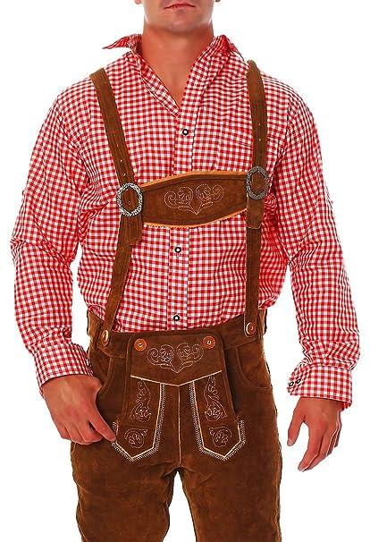 Fashion 4young Hombre Traje Camisa Traje típico de camisa de ...