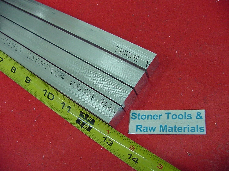 "10 Pieces 3//4/""x 3//4/"" ALUMINUM 6061 SQUARE FLAT BAR 13/"" long T6511 New Mill Stock"