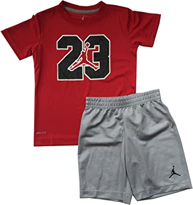 Jordan Jumpman 23 Logo Petits garçons Tee shirt et short