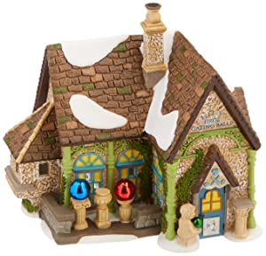 Department 56 Dickens' Village Lily Bros Gazing Balls Light House, 6.1 inch