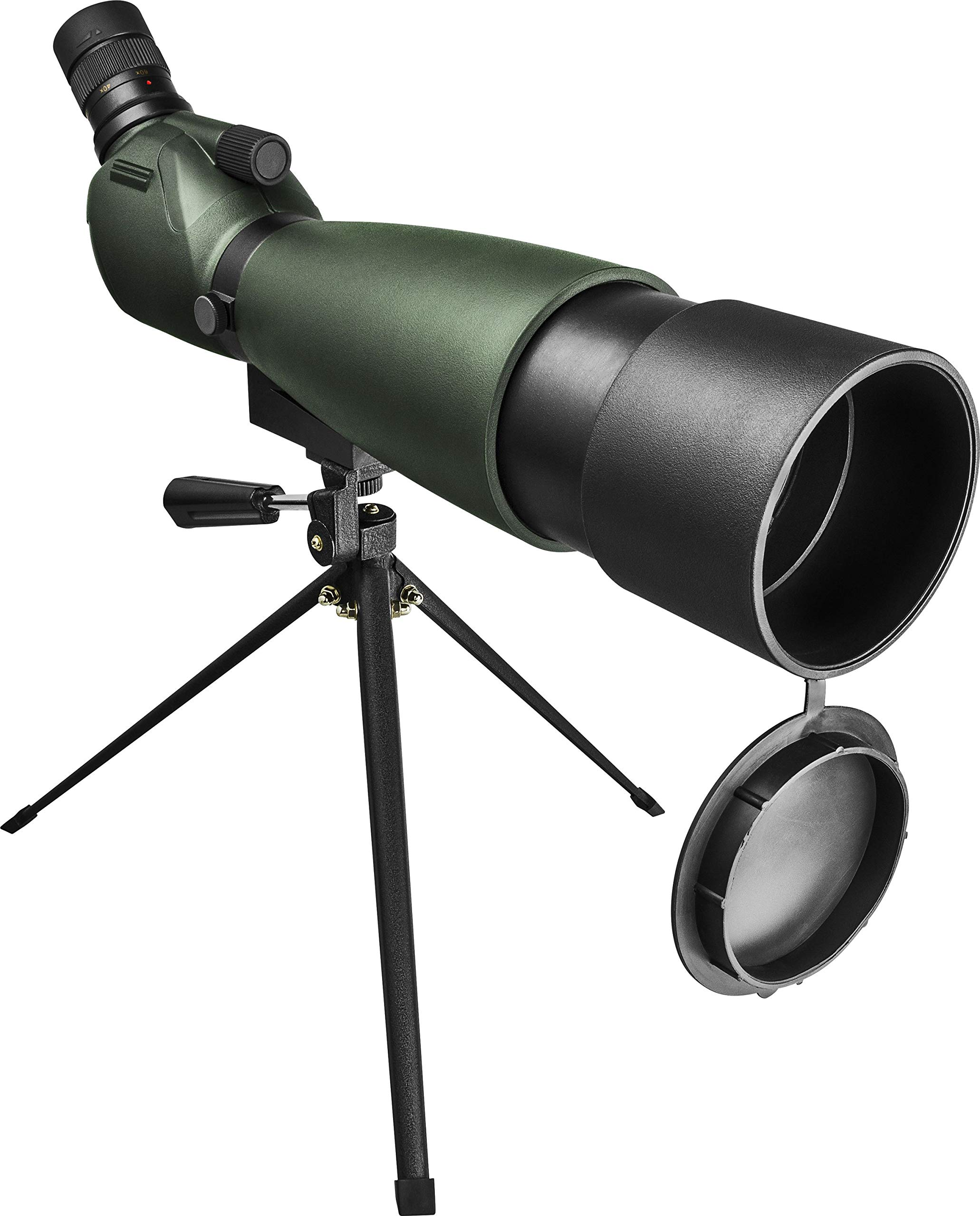 Orion Grandview 20-60x80 Zoom Spotting Scope, Green/Black (51691) by Orion