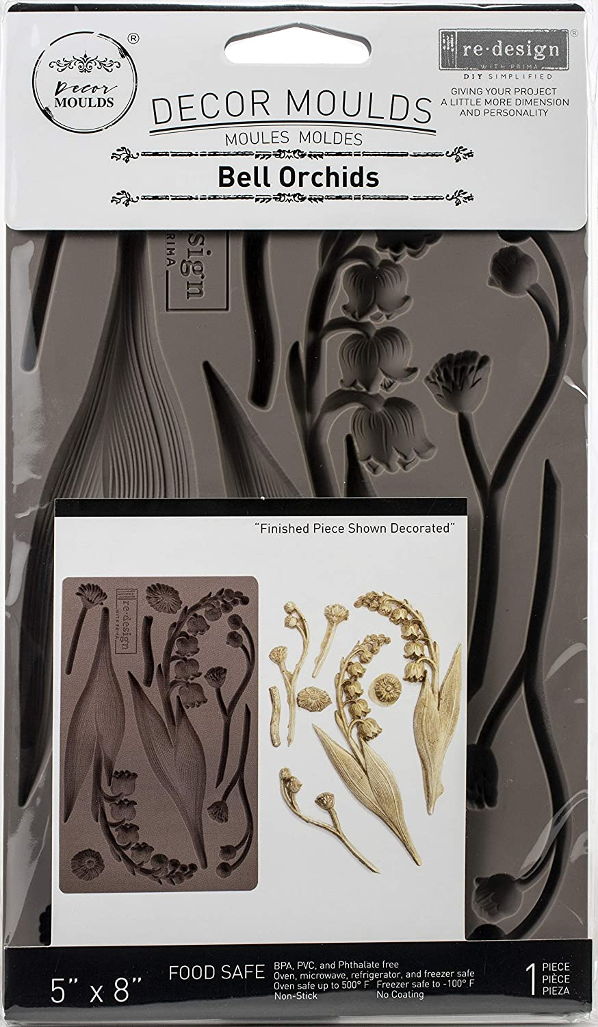 PRIMA MARKETING INC Redesign Mould 5X8 ORCHI, Bell Orchids