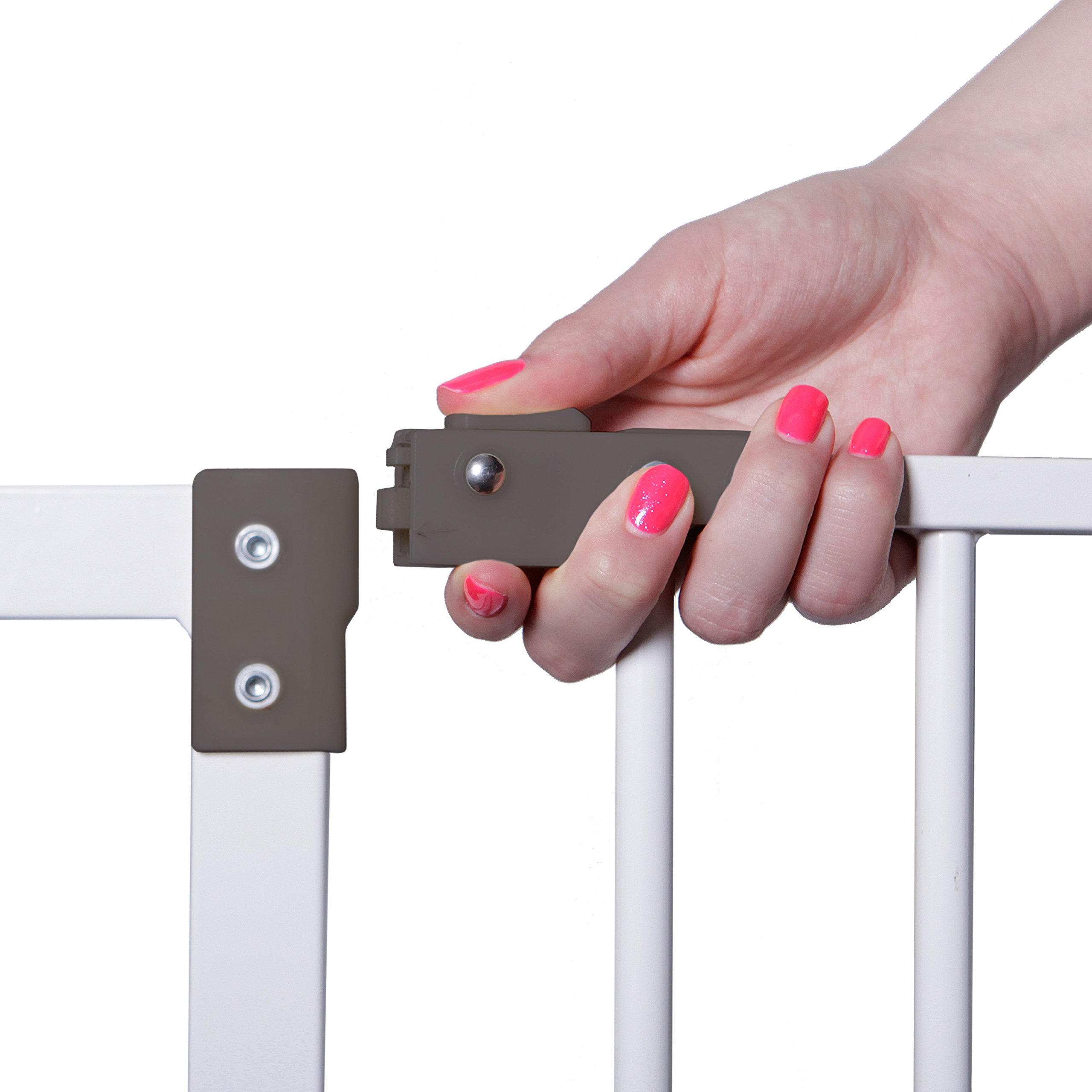 Dreambaby Liberty Tall Auto Close Security Gate w/ 3.5'' Extension by Dreambaby (Image #2)