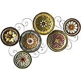 Amazon.com: Italian Decorative Wall Plates Set of Three: Home ...