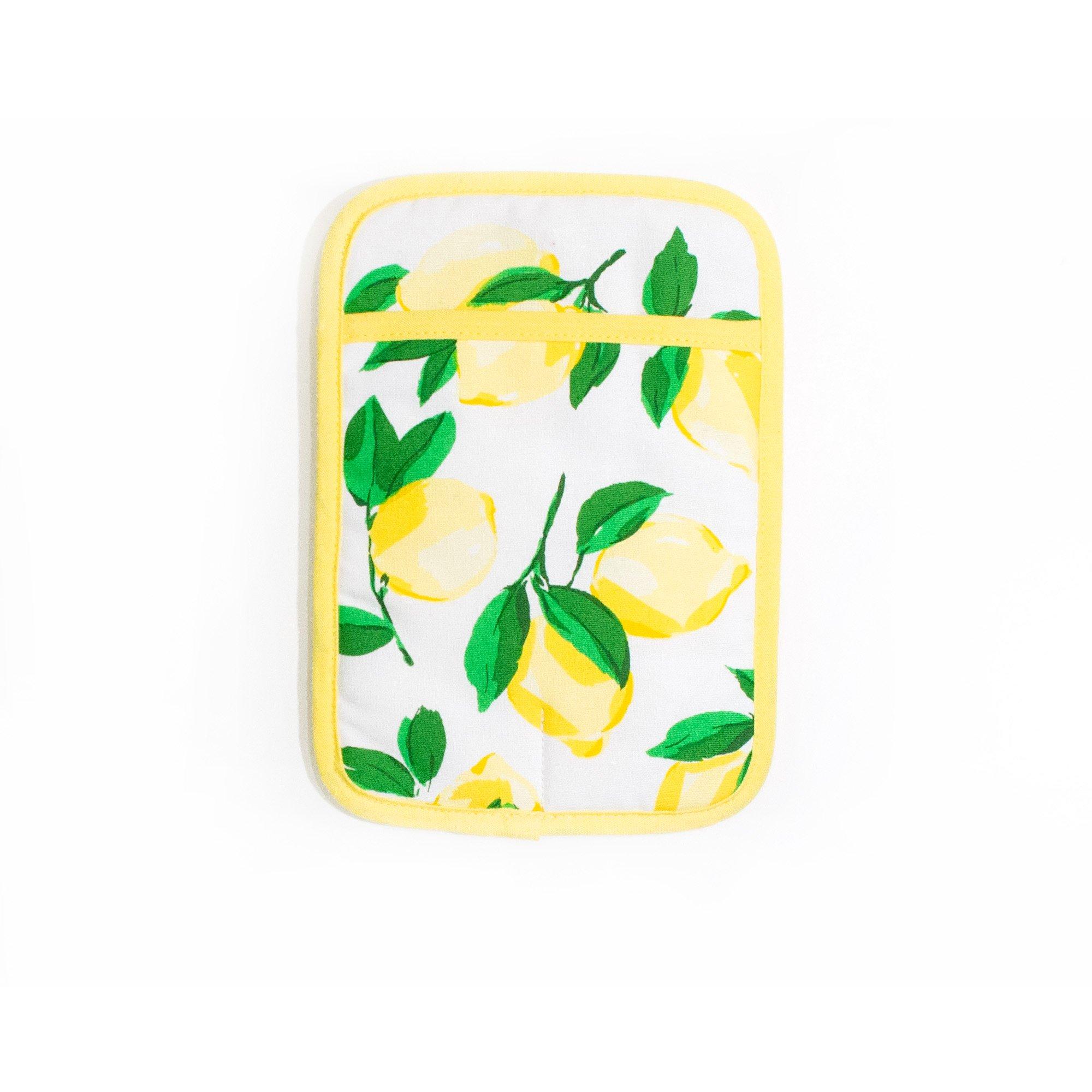 Kate Spade Make Lemonade Multi Pot Holder 7x10