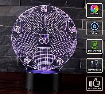3D Lámpara de Escritorio Mesa NHSUNRAY 7 cambiar el color botón ...