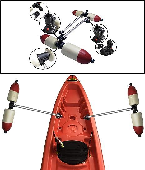 Kayak Outrigger Sidekick Arm Canoe Boat Fishing Stablizer System Rack Mount J8T3