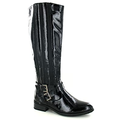 ffb0eee041d Ladies Spot On Knee High Boots