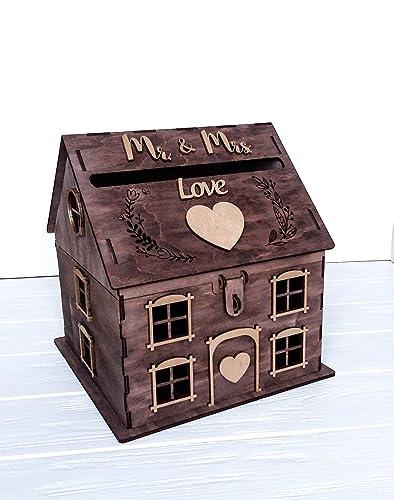 Amazon Com House Gift Card Box For Wedding Rustic Wedding Card