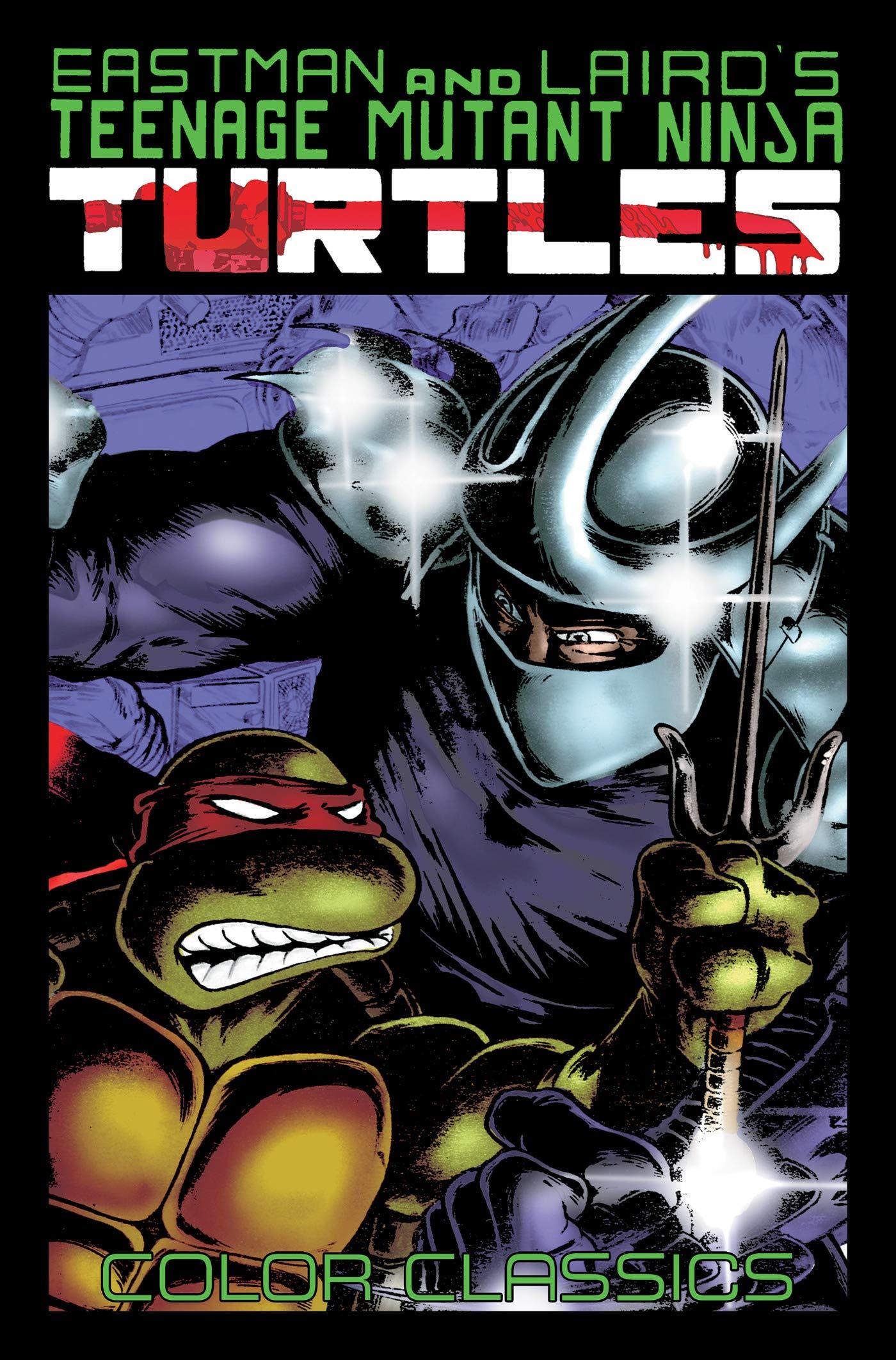 Teenage Mutant Ninja Turtles Color Classics, Vol. 2: Amazon ...