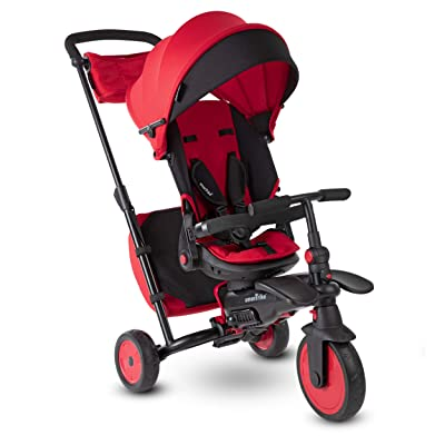 smarTrike STR7 Folding Baby Tricycle, Red: Toys & Games