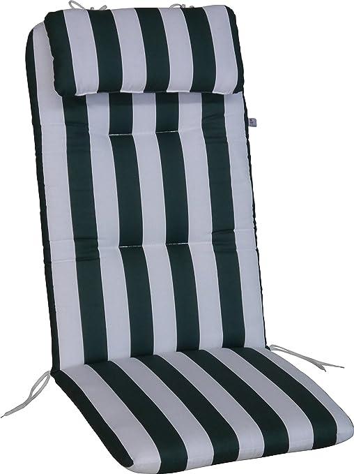 cuscino per sedia sdraio 50x120 cm