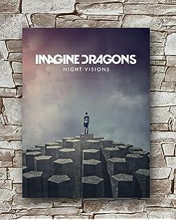 Custom Imagine Dragons Thunder Silk Poster Wall Decor