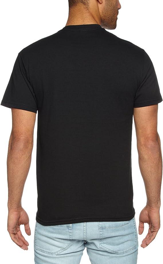 Rolling Stones Men/'s  Plastered Tongue Slim Fit T-shirt Black