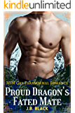 Proud Dragon's Fated Mate: M/M Gay Paranormal Romance