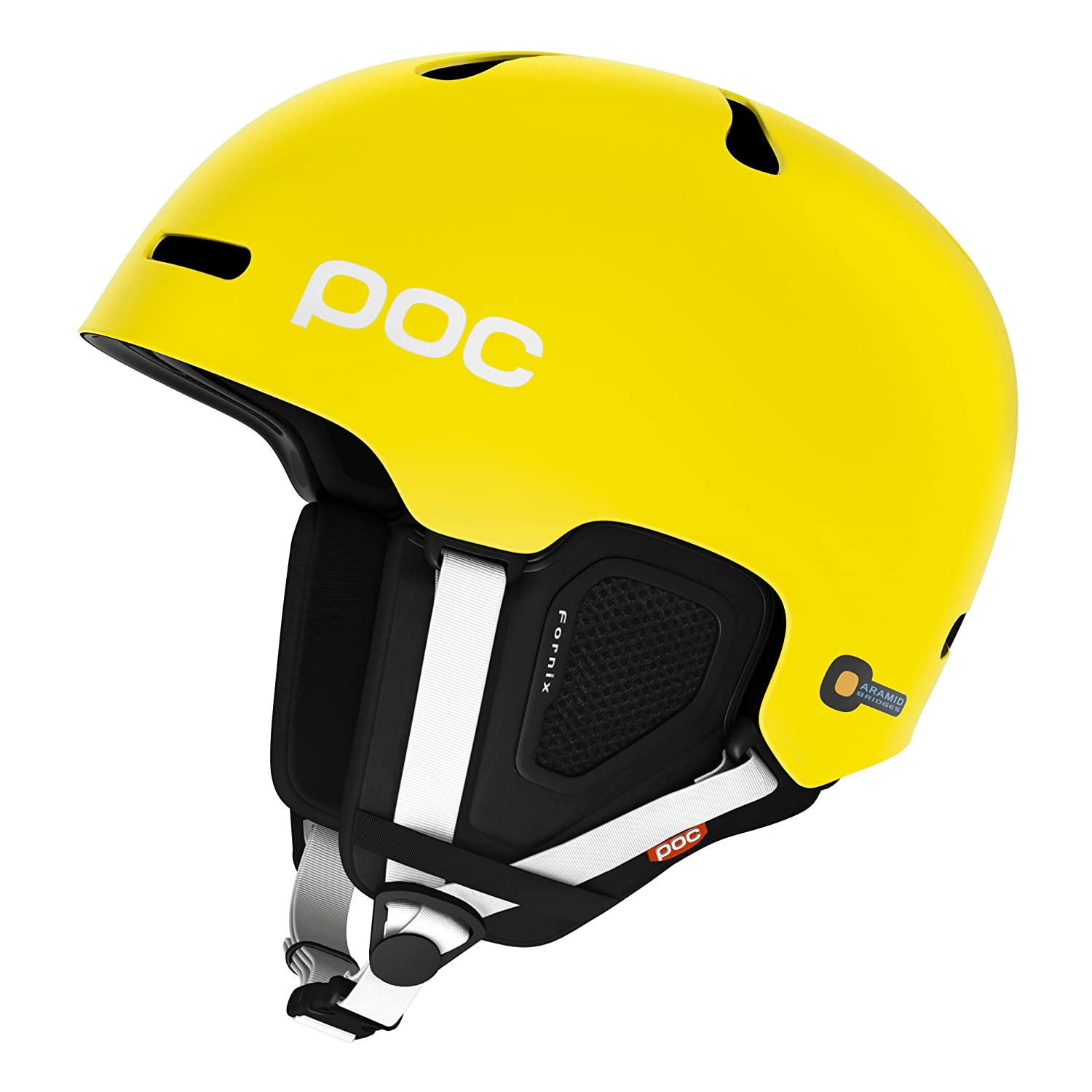 POC Fornix Arsenic Yellow Casco de esquí color amarillo talla XL XXL