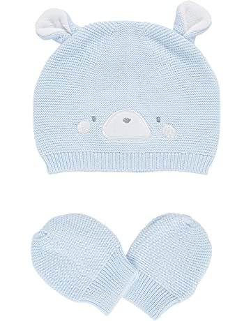 bc31691d109653 Mothercare Baby Boys True Knit Novelty Purl Knit Hat & Mitts Hat