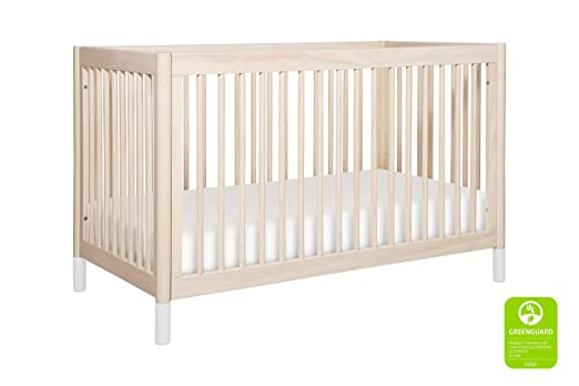 Babyletto Gelato 4-in-1 Convertible Crib with Toddler Bed Conversion Kit, Washed Natural