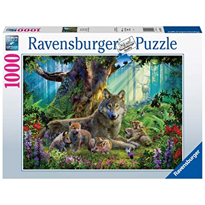 Ravensburger 15987 Wolves in The Forest 1000 Piece Puzzle for Adults - Every Piece is Unique, Softclick Technology Means Pieces Fit Together Perfectly: Toys & Games