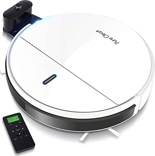 Self Docking Recharge Smart Robotic Vacuum Automatic Cleaner Floor Sweep Machine
