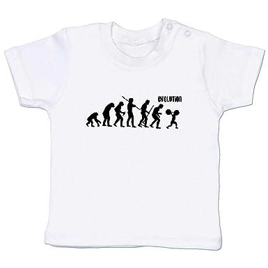 Shirtracer Evolution Baby - Gewichtheber Evolution - Babyshirt ...