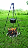 Texsport Campfire Cooking Dutch Oven Tripod and