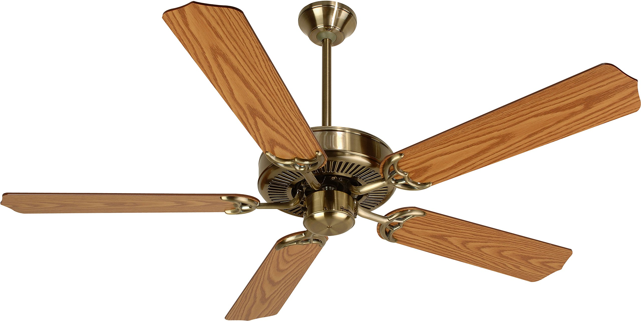 Craftmade K10620 Ceiling Fan Motor with Blades Included, 52''