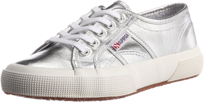 Tg. 36 Superga 2750 COTMETU S002HG0 Sneaker donna Argento Silber Silver 0