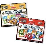 Amazon Com Melissa Doug Water Wow Bundle Animals Alphabet And Numbers Melissa Doug Toys Games