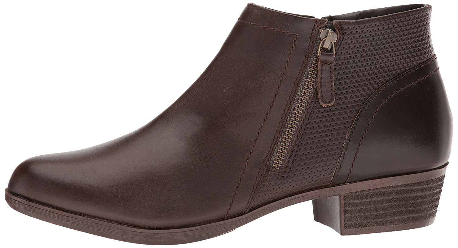 Cobb Hill Women's Oliana Panel Ankle Boot B077CTY2TN 7.5 N US|Stone Pull Up Lthr