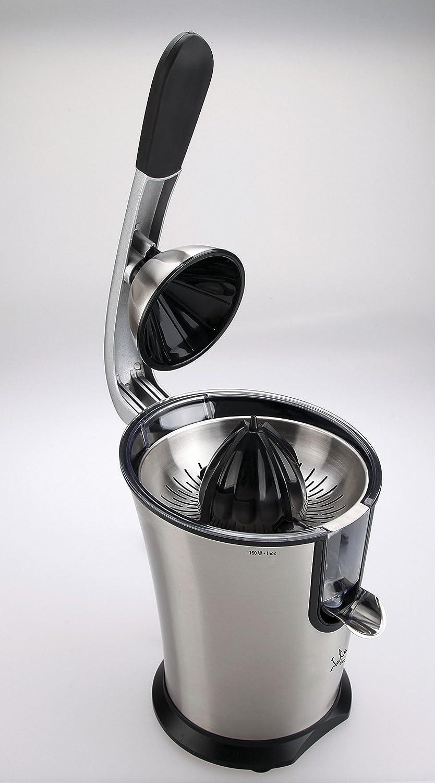 Jata EX606 Exprimidor inoxidable, 160 W, 1 Liter, 0 Decibelios, Acero