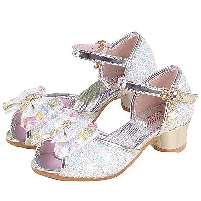 stile unico cercare alta moda YONIER Scarpe per Bambine Ragazze Principessa Ballerine ...