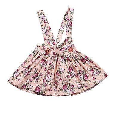 Chronstyle Vestido Niña Faldas Para Bebé Niña Tiene 0 6