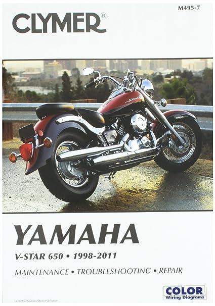 Amazon Com Clymer Yamaha V Star 650 1998 2011 Ronwright Automotive
