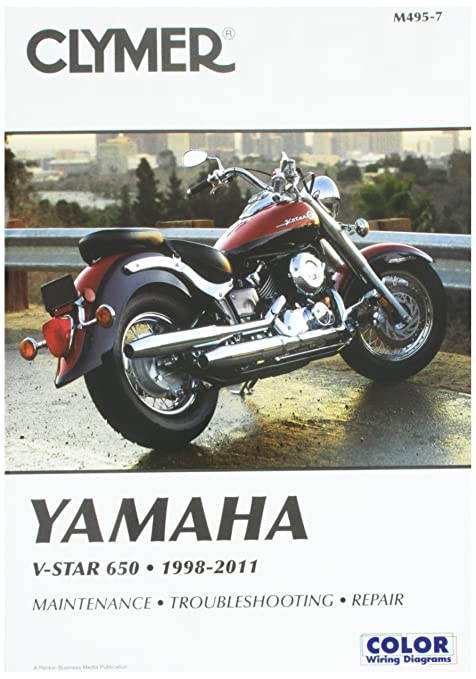 amazon com clymer yamaha v star 650 (1998 2011) ronwright automotive1998 Yamaha V Star Wiring Diagram #2