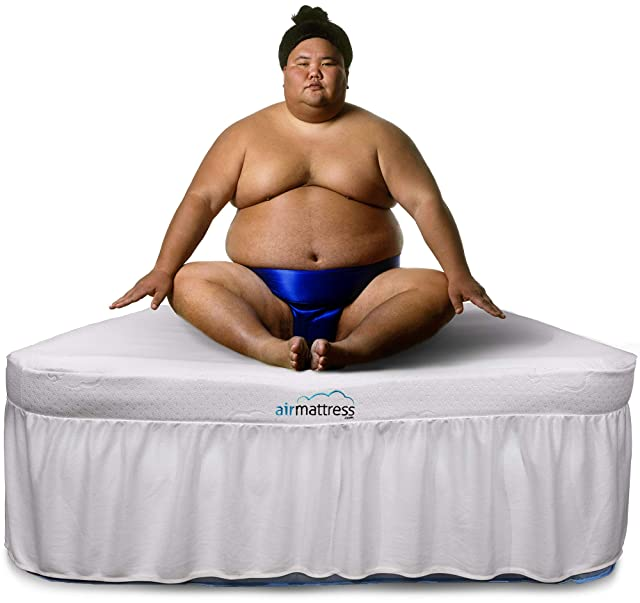 Air Mattress Raised Inflatable Bed