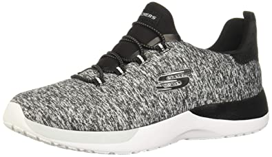 Skechers Dynamight Sport Shoes Womens In BlackWhite
