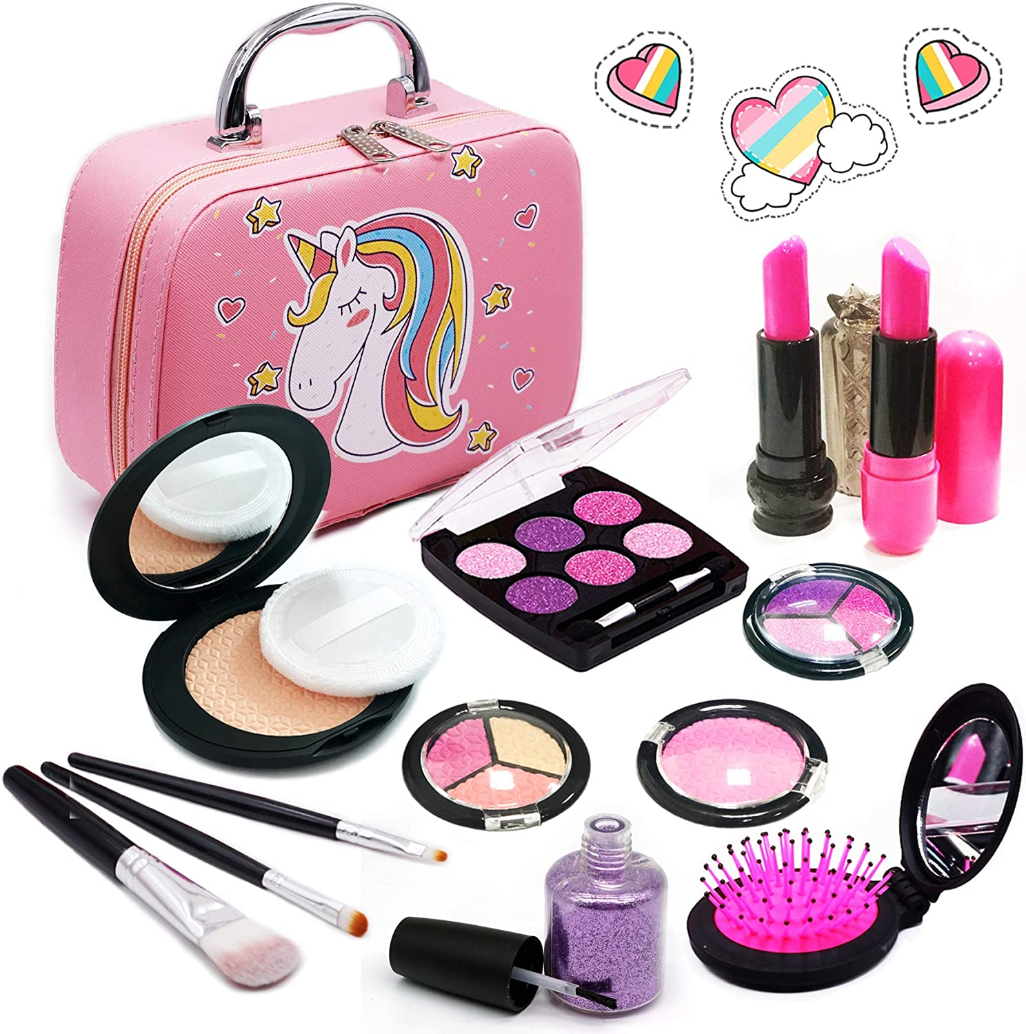 7 Tween Makeup Set for Girls Play Girls Makeup Kit for Kids Toysical Kids Makeup Kit for Girls 6 10 Year Old Children 8 Non Toxic Top Birthday for Ages 5 9