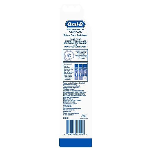 Braun Oral-B Pro - Cepillo de dientes eléctrico de rotación, color azul y blanco: Amazon.es: Salud y cuidado personal