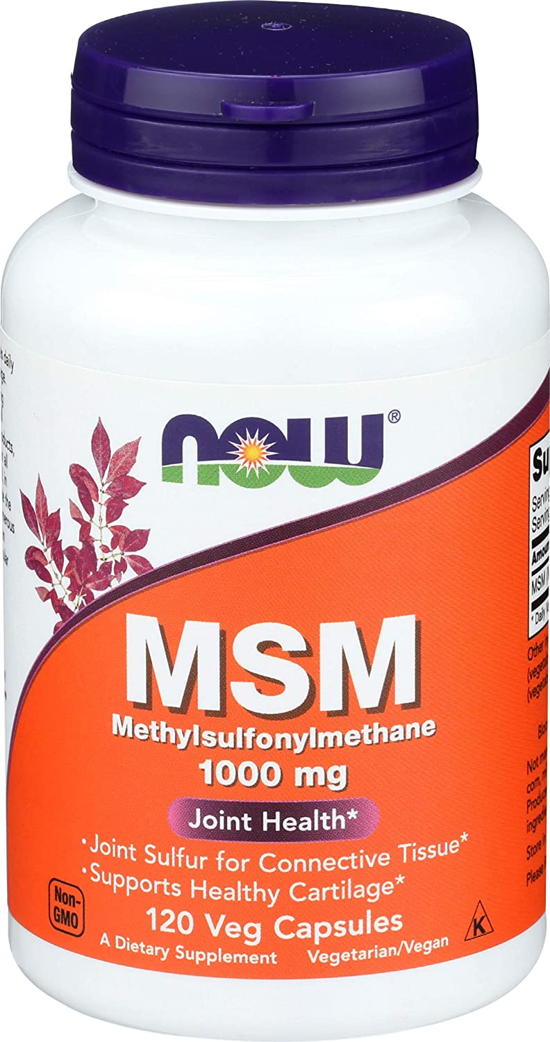 Now Foods, Msm 1000mg, 120 Capsules
