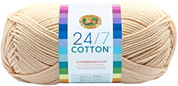 Lion Brand Yarn 100% Natural Cotton Yarn