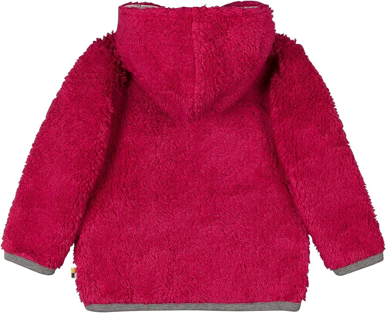 GOTS Zertifiziert Giacca Unisex-Bimbi loud proud Jacke Pl/üsch aus Bio Baumwolle
