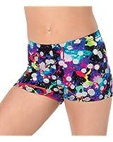 Girls Hologram Shorts,G635C