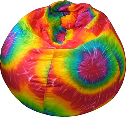 Pleasing Gold Medal Bean Bags Denim Look Tie Dye Bean Bag With Cargo Pocket Medium Tween Tie Dye Unemploymentrelief Wooden Chair Designs For Living Room Unemploymentrelieforg