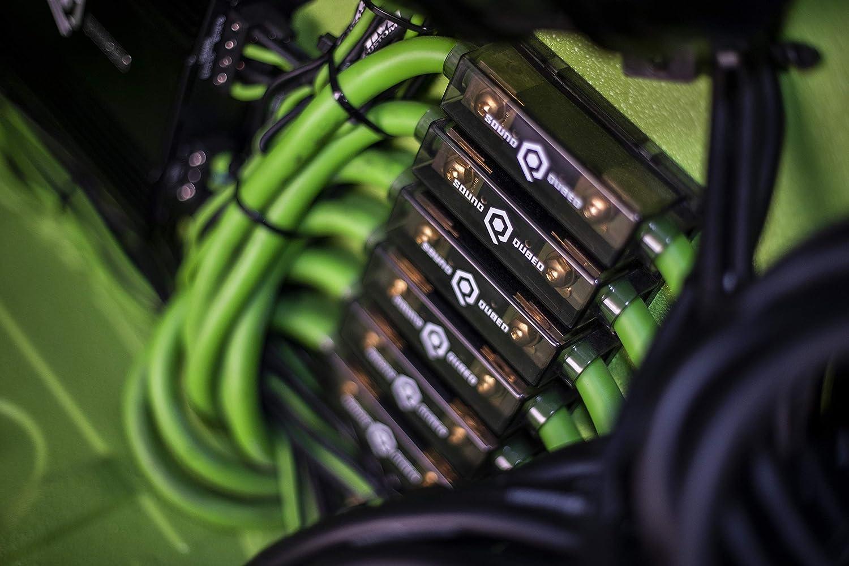 0 Gauge, 250 Amp Car Audio Amplifier Fuse Block