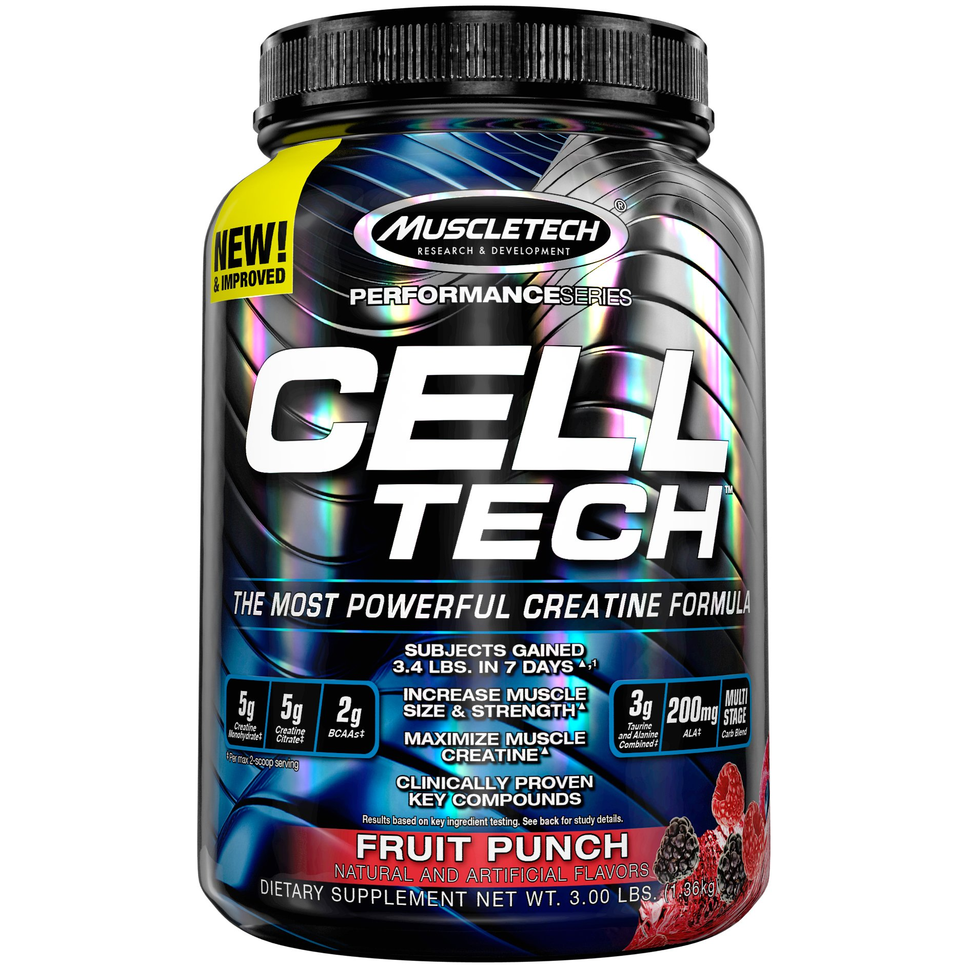 Amazon Com Muscletech Cell Tech Hardgainer Creatine