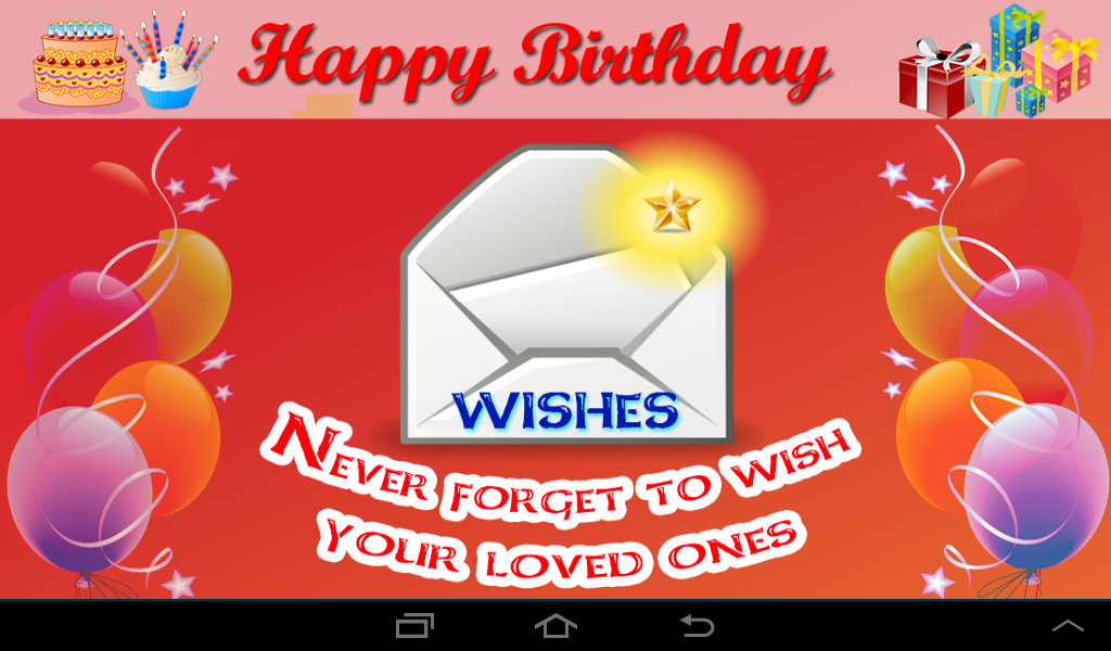 Amazon com: Birthday SMS and Greetings: Appstore for Android