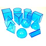 ETA hand2mind Blue Power Geometric Solids (Set of 12)