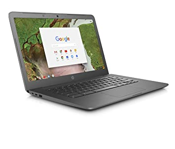 4d86bdcd56b5b0 HP Chromebook 14-ca000na 14-Inch Laptop - (Grey) (Intel Celeron Dual ...