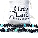 Amazon Price History for:Beautiful Baltic Amber Teething Necklace for Babies (Unisex) Drooling & Teething Pain Relief - Certified Genuine Baltic Amber Chip Bead by Lolly Llama - Dark Cherry